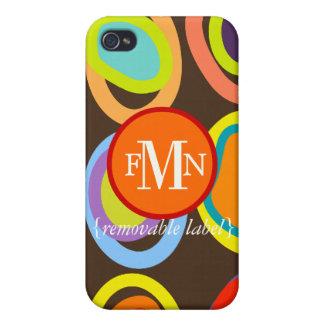 PixDezines Organic Eggs, Custom Color ♥♥♥♥ iPhone 4 Case