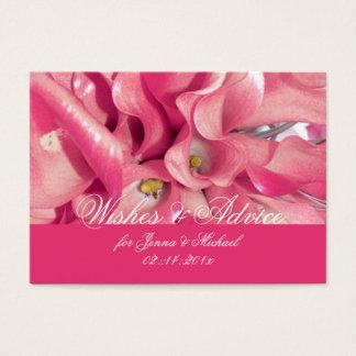 PixDezines Pink Calla Lily, Advice Cards