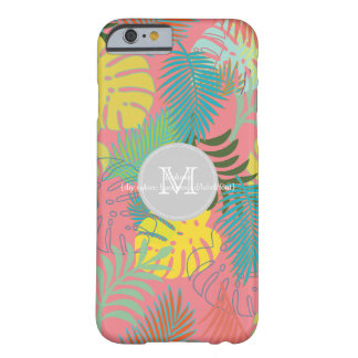PixDezines rainforest/foliage/DIY background color Barely There iPhone 6 Case