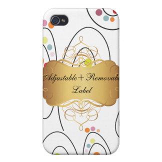 PixDezines Retro Spring Bouquets iPhone 4 Case