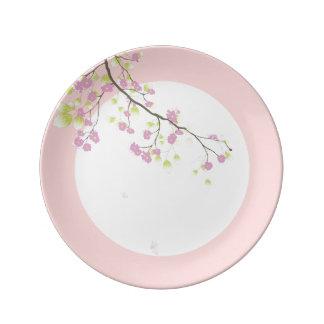 PixDezines sakura/pink/DIYbackground Plate