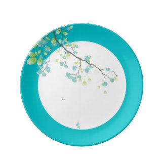 PixDezines sakura/teal/DIYbackground Plate