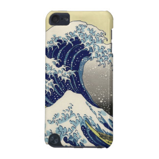 PixDezines Vintage, Great Wave, Hokusai 葛飾北斎の神奈川沖浪 iPod Touch (5th Generation) Covers