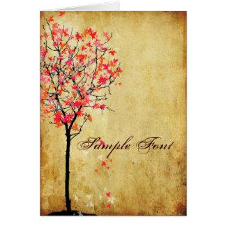 PixDezines vintage pink maple/DIY fonts+color! Card
