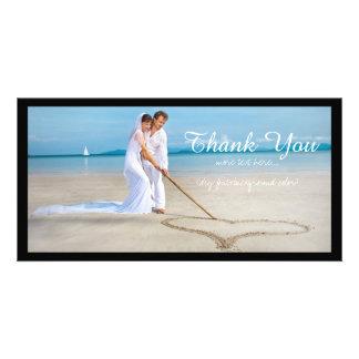 PixDezines wedding photo thank you Card