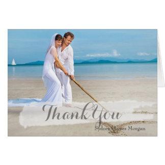PixDezines wedding photo thank you cards