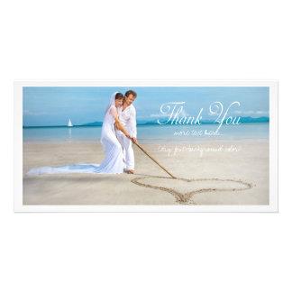 PixDezines wedding photo thank you Picture Card