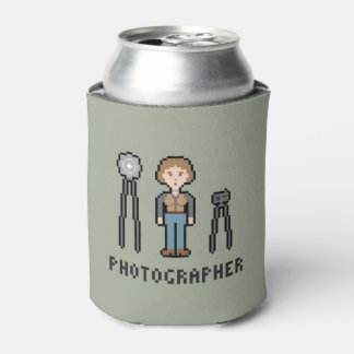 Pixel Female Photographer Can Cooler