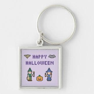 Pixel Happy Halloween Key Ring