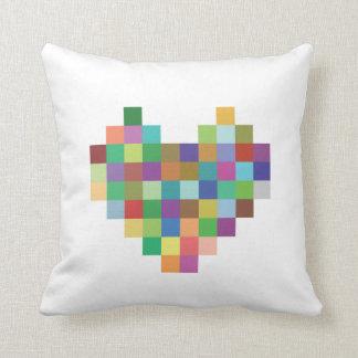 Pixel Heart Cushions
