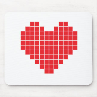 Pixel Heart Mouse Pad
