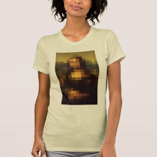 Pixelated Mona Lisa 3 T-Shirt
