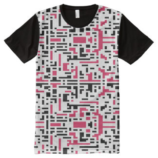 Pixels All-Over Print T-Shirt
