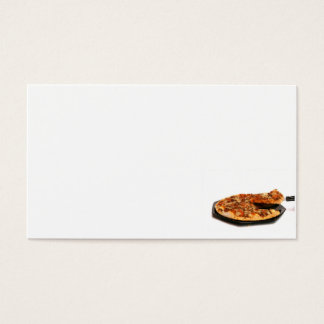 pizza business card