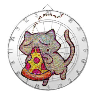 Pizza Cat! Dartboard