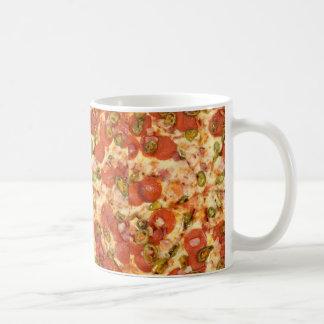 Pizza design coffee mug