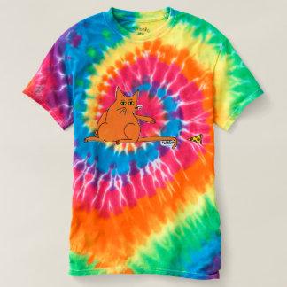 Pizza FahCaht Tie Dye Tee Shirt