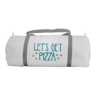 Pizza Gym Bag Gym Duffel Bag