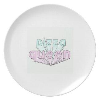 Pizza Queen Plate