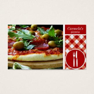 pizza restaurant business card