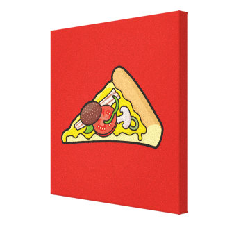 Pizza slice canvas print