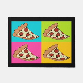 Pizza slices custom doormat