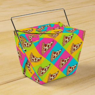 Pizza slices takeout container box