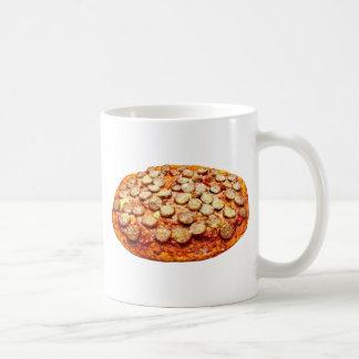 Pizza With Pepperoni and Sausage Coffee Mug