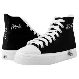 PK Black Sensation Printed Shoes