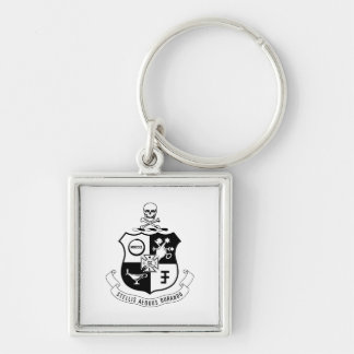 PKS Crest Key Ring