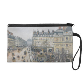 Place du Theatre Francais, Paris: Rain, 1898 Wristlet