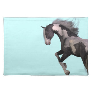 "Place set table set ""savage Horse"" horse Placemat"