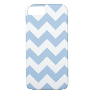 Placid Blue Chevron Zigzag iPhone 7 Case