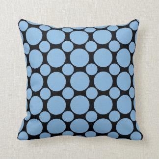 Placid Blue Polka Dot 2 Pillow