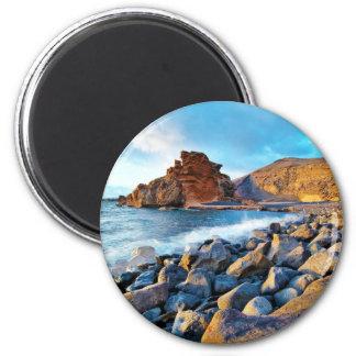 Plage de El Golfo Plages de Lanzarote Espagne Fridge Magnets