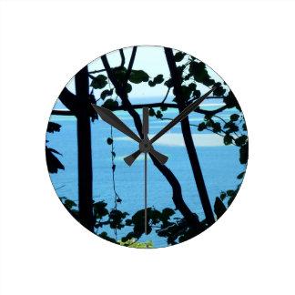 Plage Paradis Wall Clock