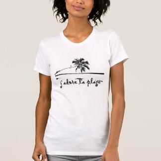 plage t-shirts