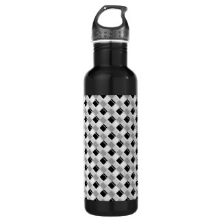 Plaid 3 Any Color White 710 Ml Water Bottle