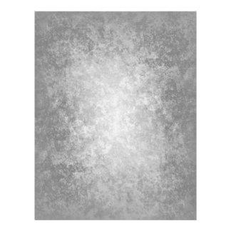 Plain grungy gray background flyer
