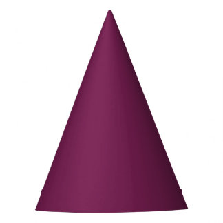 Plain Wine Party Hat