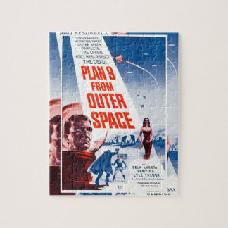 Plan 9 From Outer Space Jigsaw Puzzle