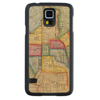 Plan Of Baltimore Carved Maple Galaxy S5 Case