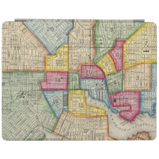 Plan Of Baltimore iPad Cover