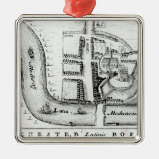 Plan of Rochester Christmas Ornament