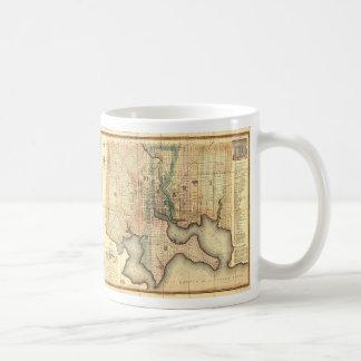Plan of the City of Baltimore Maryland Map (1822) Coffee Mug