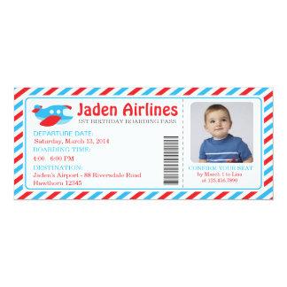 Plane Invitation Ticket / Plane Ticket