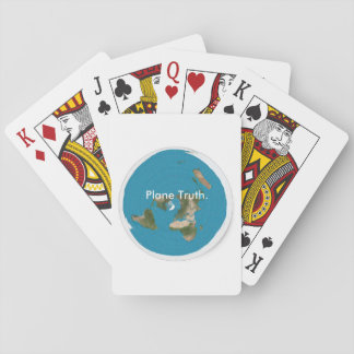 Plane Truth. Azimuthal Equidistant Playing Cards
