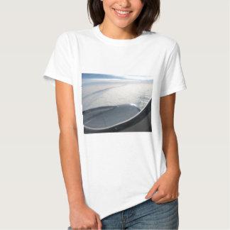Plane view 2 t-shirts