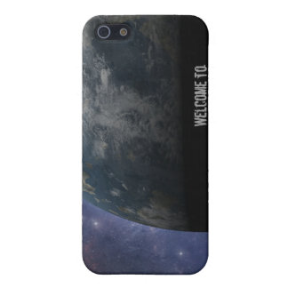 Planet Earth and Outer Space Fantasy Art iPhone 5 Cover