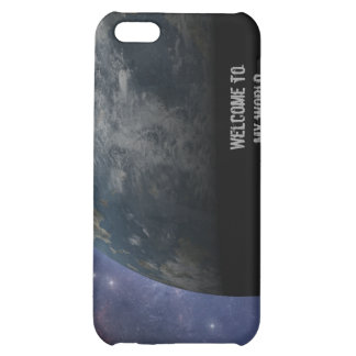 Planet Earth and Outer Space Fantasy Art iPhone 5C Cases